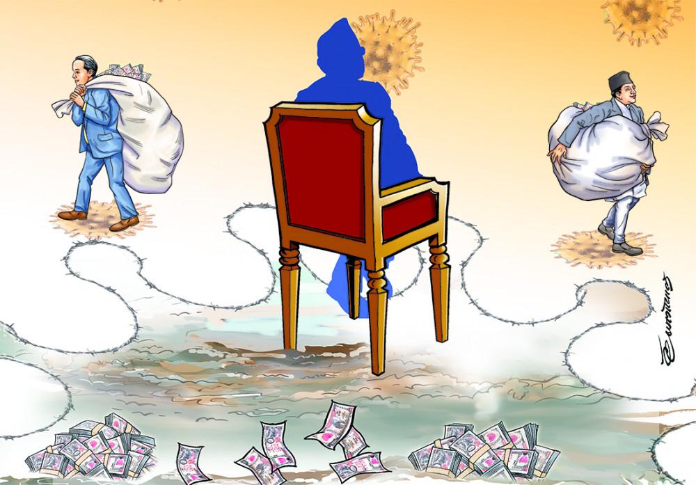 कोरोना महामारी नै राजनीतिक अस्त्र