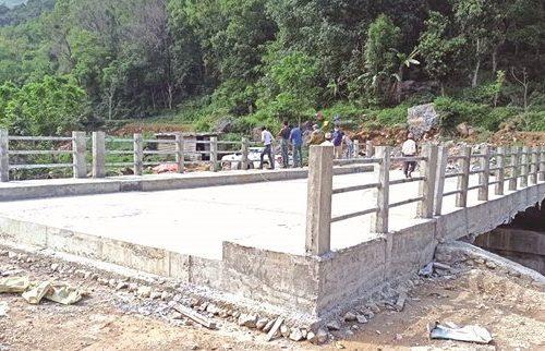 म्याग्दीका ग्रामीण बस्तीलाई शहरसँग जोड्न विभिन्न स्थानमा १३ पक्की पुल निर्माण