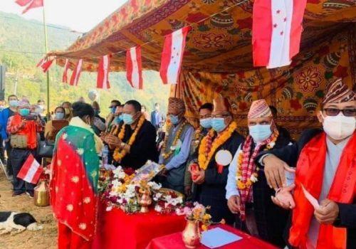 काभ्रेमा ४५० बढी युवाहरु नेपाली कांग्रेसमा प्रवेश