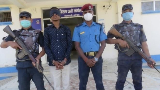 हनुमान मन्दिरका पुजारी हत्याको अभियोगमा एक भारतीय नागरिक पक्राउ