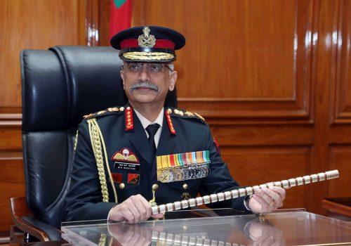 भारतीय सेना प्रमुख भन्छन, चिन र पाकिस्तान मिलेर भारतको लागि खतरा निम्त्याउन सक्छन
