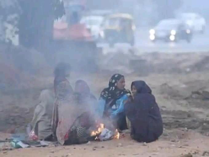 शीतलहर पीडित जनता भन्छन् – अब भोट माग्न आए दुवै औँठाले छाप