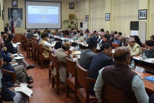 राष्ट्रिय विकास समस्या समाधन समिति बैठक