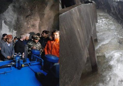 प्रतिदिन १७ करोड लिटर पानी सुरुङमार्गबाट सुन्दरीजल आइपुग्ने