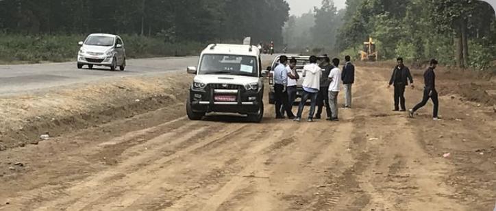 नारायणगढ–बुटवल सडकखण्ड विस्तारले गति लिँदै