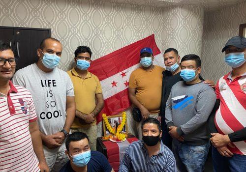 जोशीको १३ औं पुण्यतिथिको अवसरमा नेपाली जनसम्पर्क समिति मलेसियाद्वारा श्रद्धाञ्जलीसभा