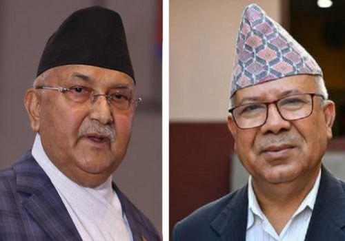 ओली–नेपाल शक्ति प्रदर्शनमा, एकताभन्दा पार्टी विभाजन उन्मुख
