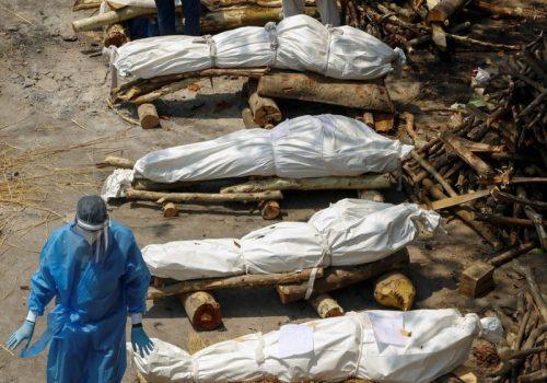 भारतमा कोरोनाबाट मृत्यु हुनेको संख्या २ लाख ६६ हजार पुग्यो