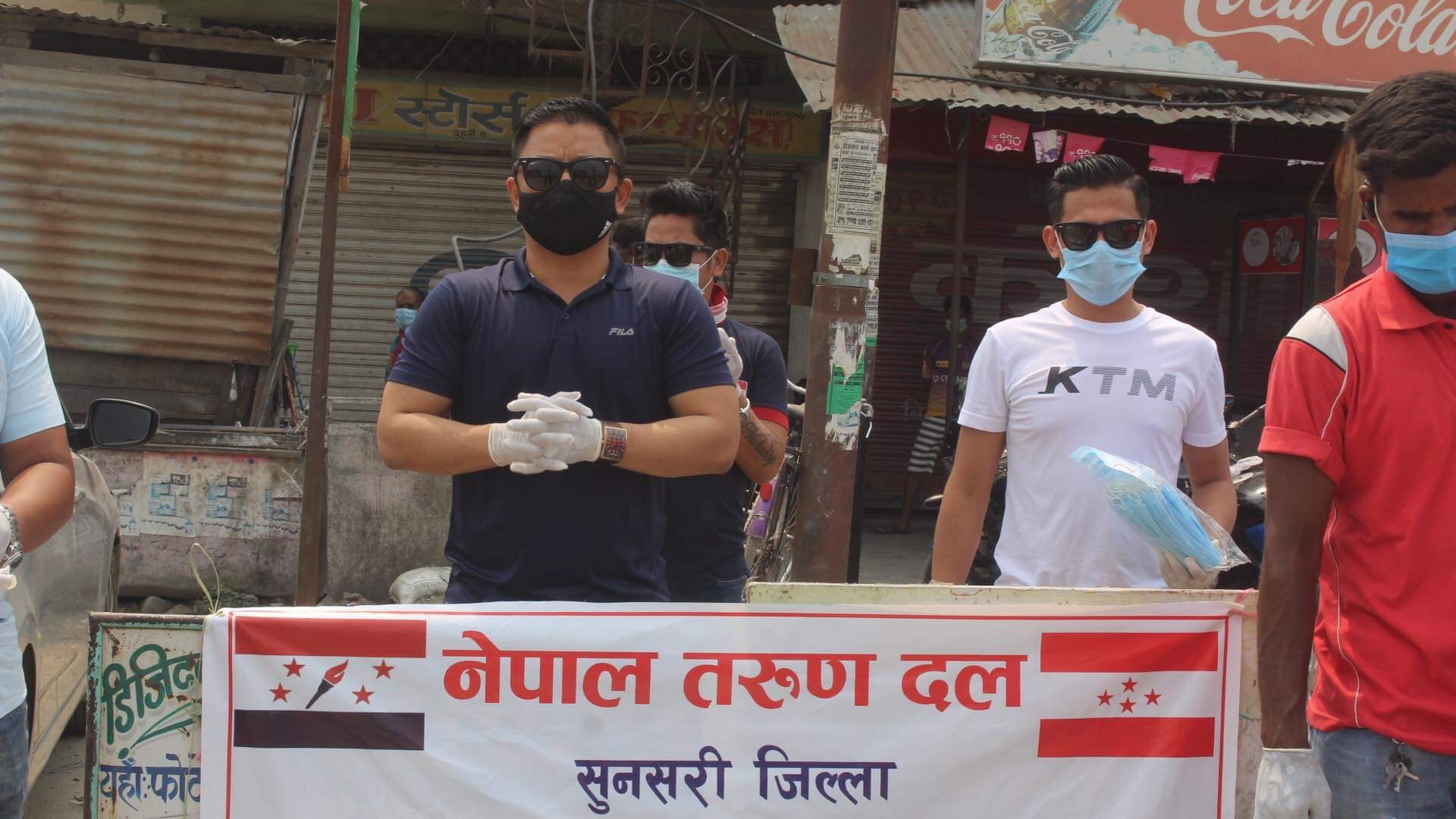 नेपाल तरुणदल सुनसरीद्वारा समस्यामा परेकाका लागि सहयोग अभियान सुरु