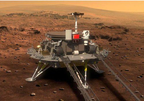 मङ्गल ग्रह: चीन सफलतापूर्वक मङ्गलमा यान अवतरण गराउन सफल