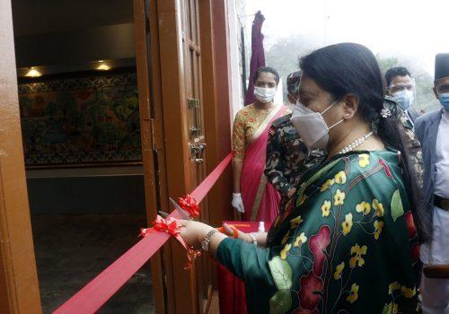 ऐतिहासिकस्थल सिन्धुलीगढी नेपाली शूरता र वीरताको परिचय: राष्ट्रपति