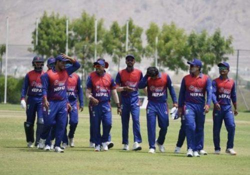 आइसिसी विश्वकप क्रिकेट लिग–२ : नेपालद्वारा ओमनलाई १९७ रनको चुनौती