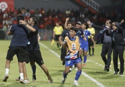 साफ च्याम्पियनसिप फुटबल : नेपालद्वारा श्रीलङ्का पराजित नेपाल लगातार दोस्रो खेलमा विजयी