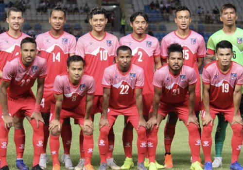 राष्ट्रिय गौरव हासिल गर्न सफल नेपाली फुटबल टोलीलाई राष्ट्रपति भण्डारीको बधाई